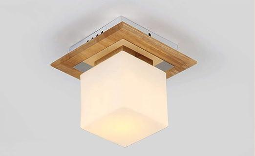 Luces de pequeñas Lámparas WENYAO TechoMadera Maciza led HED29I