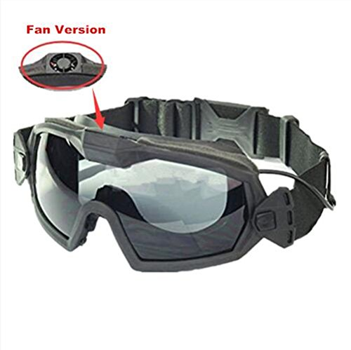 haoYK Fan Version Cooler Airsoft Glass Regulator Goggles Ski Snowboard Bike...