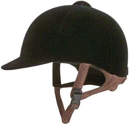 NEW Black Velvet Riding Show Helmets IRH MANY SIZES