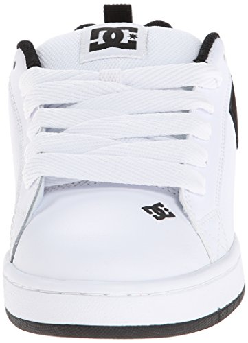 DC Shoes Men's Court Graffik SE Fashion Trainer Bianco (White/White/Black) TnQjLqWc