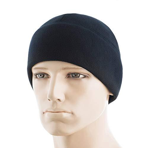 (M-Tac Watch Cap Fleece 340 Elite Winter Tactical Hat (Navy Blue, M))