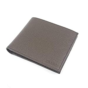 Prada Portaf. Saffiano 1 Leather Caffe Brown Wallet 2MO513