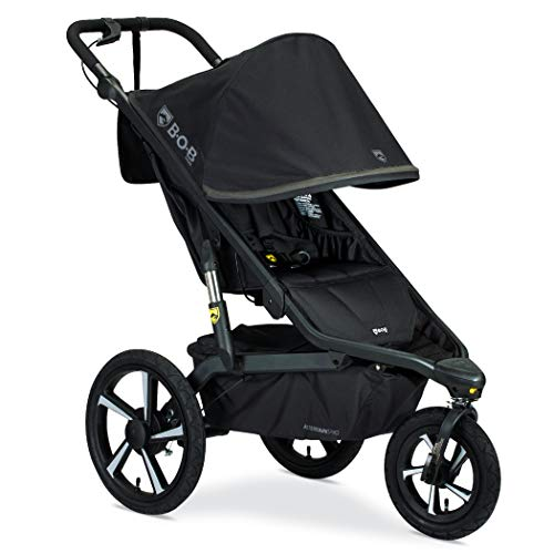 BOB Gear Alterrain Pro Jogging Stroller – Birth to 75 Pounds, Black