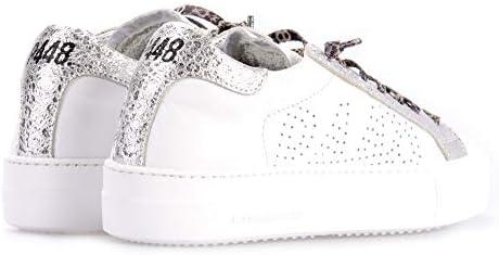 P448 Thea Baskets pour Femme Blanc