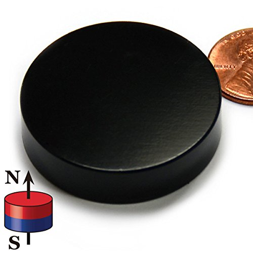 "CMS Magnetics Powerful Disc Neodymium Magnet, 1.5"" Diameter x 3/8"