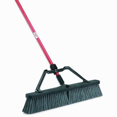 Libman Commercial 825 Rough Surface Heavy Duty Push Broom, 64