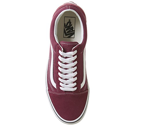 Schwarz Leather Old White Erwachsene True Skool Unisex Rose Dry Sneaker Vans IY6wfqn