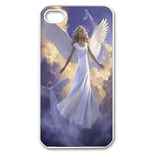 [QiongMai Phone Case] For Iphone 4 4S case cover -Elegent Angels-IKAI0448325