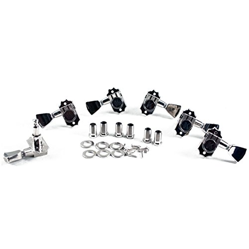 Kluson Revolution G-Mount 19:1 Ratio Tuning Machines 3 Per side Nickel KED-3801N by Kluson