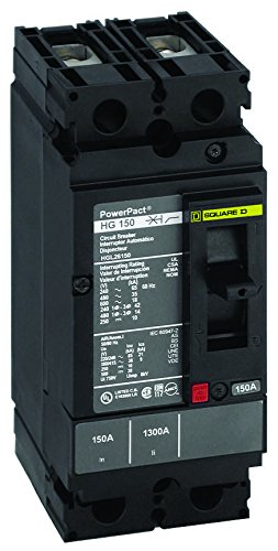 SQUARE D BY SCHNEIDER ELECTRIC HDL26060 CIRCUIT BREAKER, THERMAL MAGNETIC, 2P, 60A ()