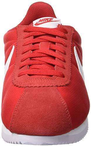 Nike Cortez Classic 604 University Chaussures Rouge de Gymnastique Red White Femme qwqrfZR
