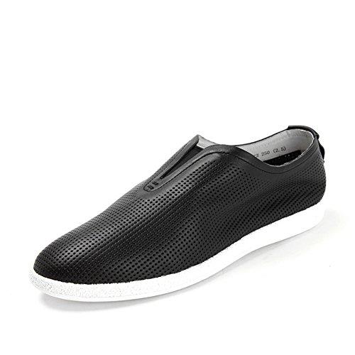 Zapatos de verano/Pedal redondo casuales zapatos planos Negro