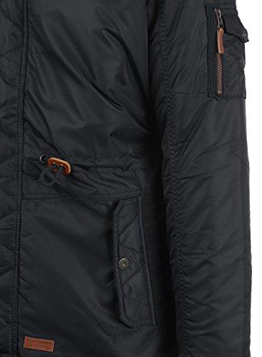 Manteau Pour Blend À Black Capuche 70155 Veste Faux Eugen Avec Longue Parka Homme Fur D'hiver aqqSwTF5