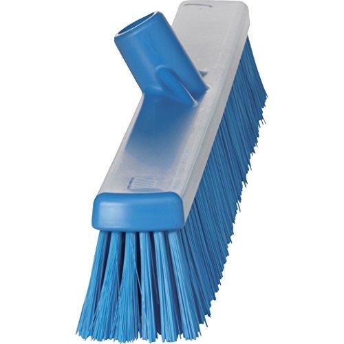 Vikan 31943 Coarse/Fine Sweep Floor Broom Head, Polyester Bristle, Polypropylene Block, 23-1/2'', Blue by Vikan (Image #2)