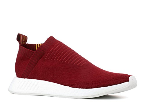 Adidas Originali Mens Nmd_cs2 Sneaker Pk Collegiata Bordeaux / Mais Oro -st / Cristallo Bianco