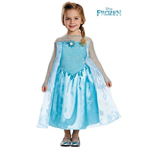 Disguise Elsa Toddler Classic Costume, Medium (3T-4T)