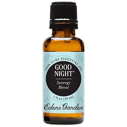 Edens Garden Good Night 30 ml 100% Pure Therapeutic Grade GC/MS Tested (Lavender, Sweet Majoram, Chamomile, Bergamot, Ylang Ylang, Sandalwood, Key Lime, Vanilla)