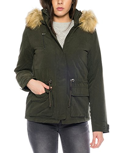 Otw Only Donna Onlstarlight Aw Verde Parka Fur Cc n17q1UB