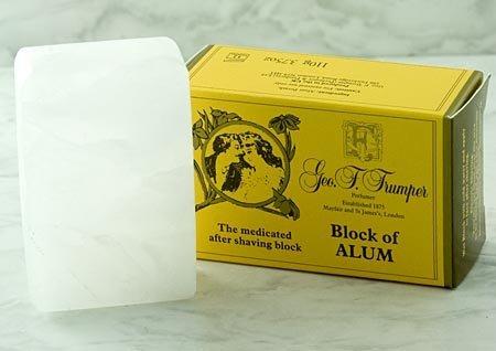 Geo F. Trumper Block of Alum