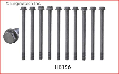 Enginetech HB156 Head Bolt Toy 2.4L 22R 22RE SOHC 1 Set REQ