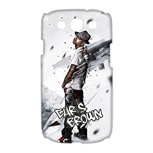Custom Chris Brown Hard Back Cover Case for Samsung Galaxy S3 CL1259 by ruishername
