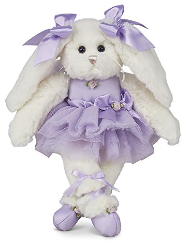 Bearington Twirlina Ballerina Plush Stuffed Animal Bunny 12