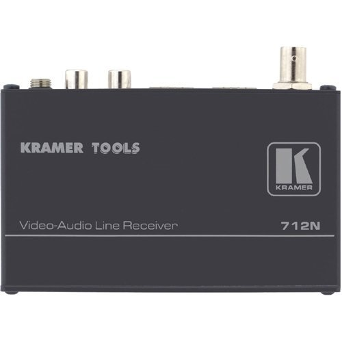 Twisted Video Over Receiver Pair (Kramer Electronics 712N Composite Video and Stereo Audio Over Twisted Pair Receiver)