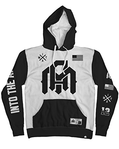 INTO THE AM Team Premium All Over Print Hoodie (XXX-Large) - High Society Jacket