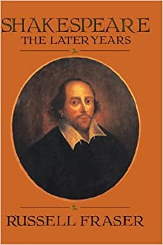 Book Shakespeare: The Later Years