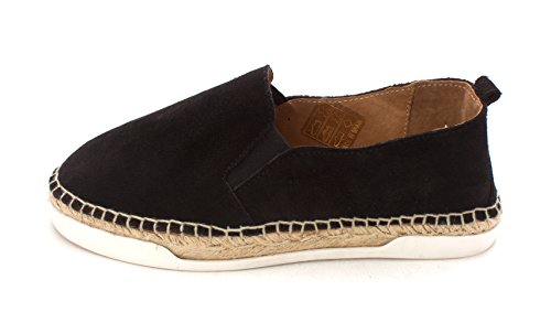 André Assous Donna Shane Low Top Slip On Fashion Sneakers In Camoscio Nero