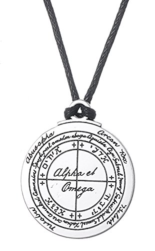 Vintage Solomon Seal Talisman for Good Health Pendant Necklace Jewelry for Men Women