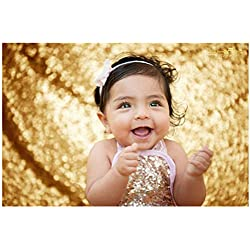 5FTx6FT Gold Sequin Photo Backdrop, Lined Photo Booth Sequin Backdrop, Photography Backdrop, Photobooth, Prom Backdrop, Candy Buffet Backdrop, Wedding Ceremony