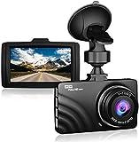 Claoner Dash Cam 1080P Full HD Dashcam Car Camera DVR Dashboard Camera 3