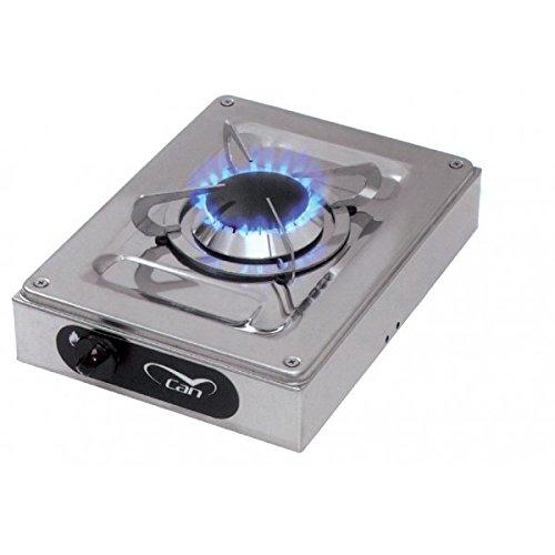CAN - Fn1330 Fornello A Gas Inox 1 Fuoco 210X290