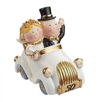 Hochzeitspaar Goldhochzeit 50 Jahre Deko Tortendeko 5 5 Cm Hochzeit