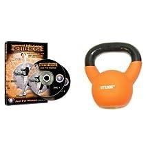 Kettlercise Just for Women Vol 1, 2 Disc DVD set PLUS 4kg Kettlercise Kettlebell - Ultimate Fat Loss Package