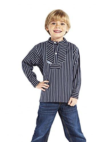 Fischerhemd für Kinder breit gestreift