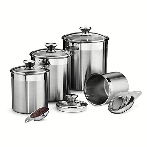 Tramontina Gourmet 8 Piece Stainless Canister