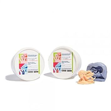 Sil Hand Goma de silicona para moldes (3 Kg): Amazon.es: Bricolaje y herramientas