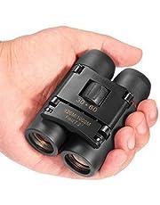 Bionoculars pieghevole 30 x 60 Telescopio ad alta risoluzione con Zoom per il Bird Watching da viaggio e caccia