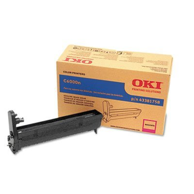 OKIDATA OEM DRUM FOR C6000N - 1-MAGENTA IMAGE DRUM (43381758) - by OKI
