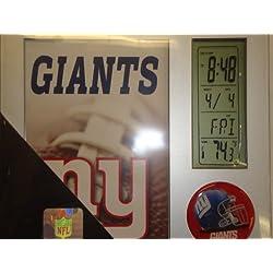 NFL New York Giants Digital Desk Clock