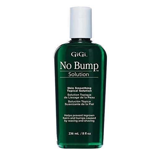 GiGi No Bump Skin Smoothing Topical Solution for after shaving, waxing or laser hair removal treatment 8 oz from GiGi