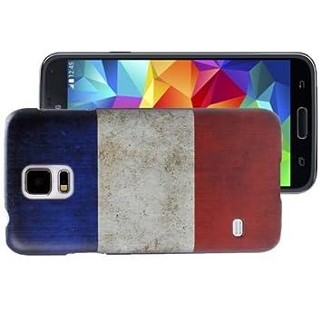 Samsung - Carcasa Galaxy S5 Bandera Banderas - Francia ...