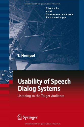 Download Usability of Speech Dialog Systems (Signals and Communication Technology) Pdf