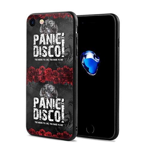 Panic at The Disco iPhone 7 Case, iPhone 8 Case Slim Protection Scratch Resistant Hard Back Cover Shock Absorbent TPU Bumper Case for Apple iPhone for $<!--$14.43-->