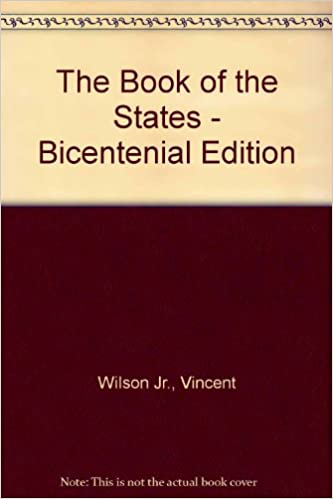The Book of the States-Biocentennial Edition