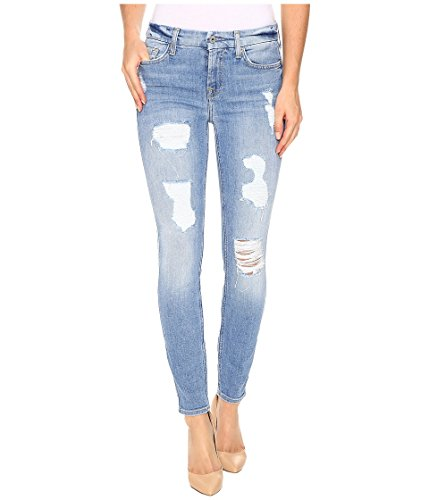 All Mankind Womens Skinny Destroy