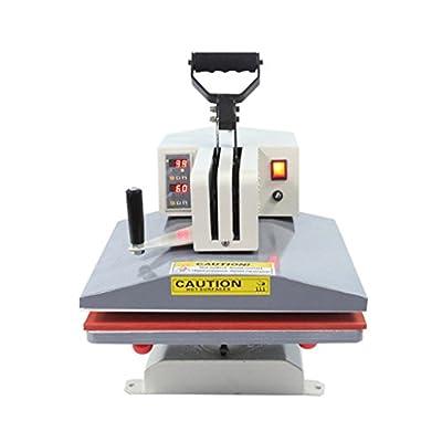 Rhegeneshop 110V Digital Transfer Sublimation T-Shirt Plate Cap Print Heat Press Machine