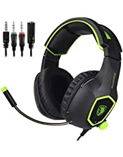 SADES SA818 Gaming Headset with Mic (Black&Green)